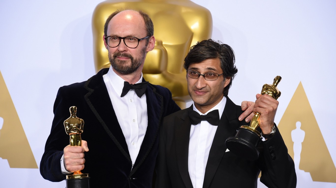 Asif Kapadia wins Oscar for 'Amy'